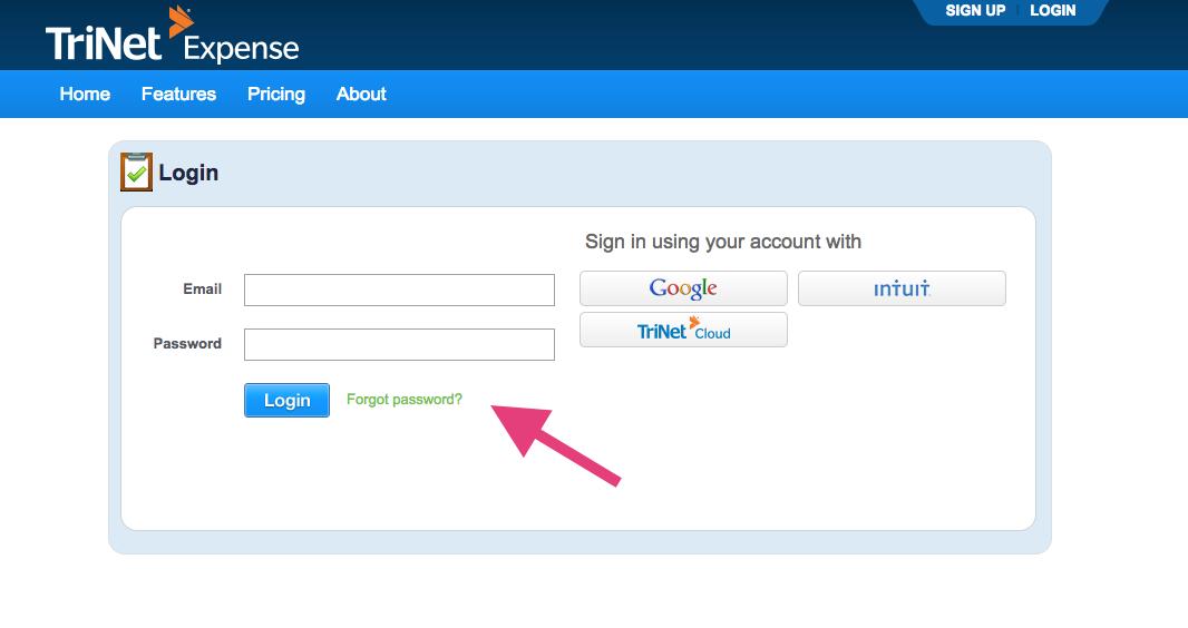 Forgot Your Password? – TriNet Cloud Help Desk