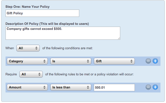 Advanced Company Policy Examples – TriNet Cloud Help Desk