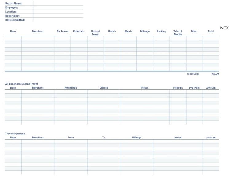 expense report pdf template trinet cloud help desk