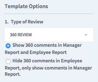 360 review template